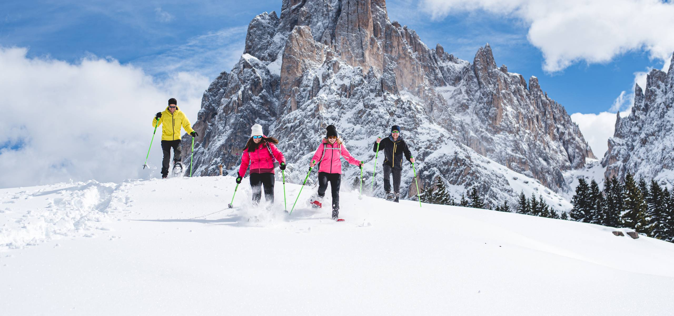 Magic Experience in the Dolomites
